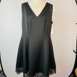 NWT Roz & Ali Black Dress14 W